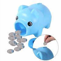 Cute Plastic Piggy Bank Pig Cash Coin Money Saving Box Children Toys