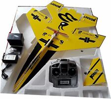 KT Foam Board RC PLANE KIT Pre Assembled with LED Lights and Radio Controller