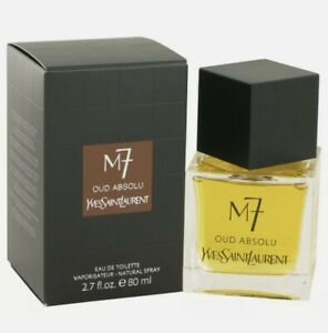 Yves Saint Laurent M7 Oud Absolu 80ml Edt New Unsealed 100% 2017 Batch