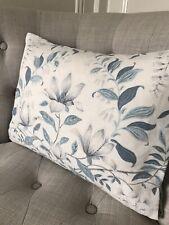 "12x16"" Handmade Cushion Cover in Laura Ashley Parterre Off White Seaspray/Austen"