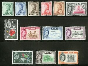 Fiji   1959-63   Scott # 163-175   Mint Never Hinged Set (173 is LH)