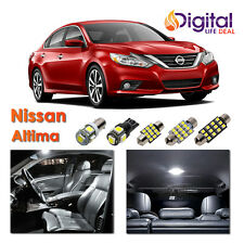 7x White Interior LED Lights Package Kit for 2010 - 2013 2014 2015 Nissan Altima