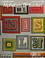 Alphabets & Borders Needlepoint Stitch and Learn | Leisure Arts 276