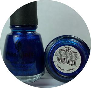 China Glaze Blue Nail Polish Light Dark Shimmer Glitter and More You Choose