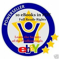 CD - eBAY POWER SELLER SECRETS + 9 Free eBooks & Reseller Rights