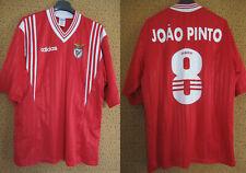 Maillot Benfica Lisbonne Adidas vintage Joao Pinto #8 SLB jersey vintage - M