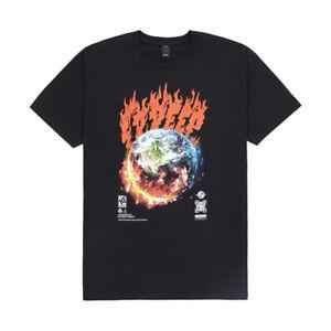 "10DEEP ""Cataclysm"" Short Sleeve Tee (Black) Men's Graphic T-Shirt"
