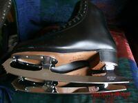 Coronation Ace John Wilson 11 1/2 Pro Blade Riedell Royal M9 Black Figure Skates