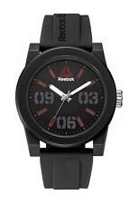 Reebok Hook Mens Black Watch, Black Silicone strap RD-HOO-G2-PBIB-BR