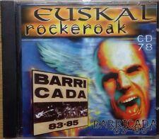 BARRICADA 83-85 (Euskal Rockeroak) Cd Nuevo Precintado