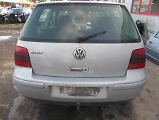 VW Golf 4 Stoßstange hinten gebraucht silber LB7Z