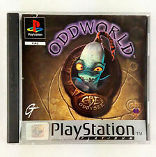 Oddworld: Abe's Oddysee PS1 Sony Playstation 1 (PAL) Complete With Manual