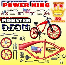 49cc/66cc/80cc 2-Stroke Gas Tank Bike Frame Kit For Motorized Bike Engines Diy