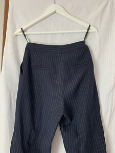 topshop pinstripe trousers
