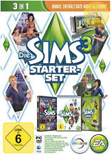 Die Sims 3 Starter Pack Vollversion + 3 DLCs EA Origin PC CD Key Download Code