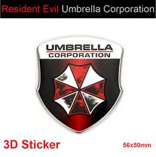 Resident Evil Umbrella Corporation Full 3D Aufkleber Auto Sticker Car Emblem #8