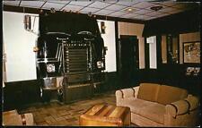 WHEELING WV Holiday Inn Motel Lobby 18 Wheeler Tractor Trailer Truck Postcard PC