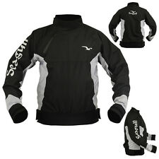 Azure Waterproof Spray Top Sweat Canoe Kayak Cag Jacket Sailing Garments Black M