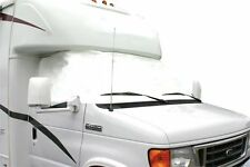 Camco RV Vinyl Windshield Cover White Windows Class C Ford '91 Camper Van Shade