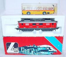"Lima HO 1:87 Swiss SBB-CFF 10043 ""LAUSANNE"" LOCOMOTIVE Re 4/4 MIB`90 VERY RARE!"