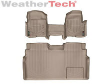 WeatherTech FloorLiner - Ford F-150 SuperCrew OTH w/o Flow - 2009-2014 - Tan