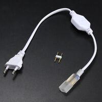220V-240V LED Strip Connector Light SMD 5050 EU Plug Waterproof High Voltage