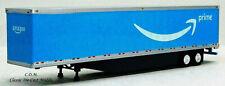 Amazon Prime Blue 53' Van Trailer 1/87 Ho Tns-151