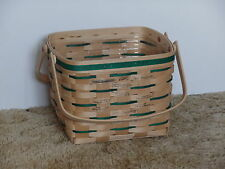 Longaberger 1994 Vip Sales Top Performer Award Basket, Signed by 11~ Rare