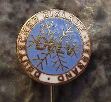 Ice Hockey Association East Germany DELV Deutscher Eislauf Verband Pin Badge