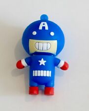 Minigz Cartoon Captain America Usb Stick 32gb Memory Super Hero Computer Flash