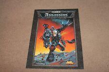 Warhammer 40k Codex Assassins  Supplement - 1999