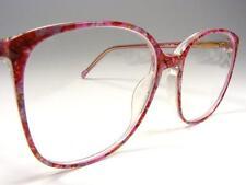 Round Demi-Amber Gold Tortoise Hippie  Vtg Eyeglass Frame 44-20 1980/'s New NOS