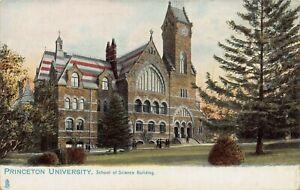School of Science Building, Princeton University, Very Early Postcard, Unused