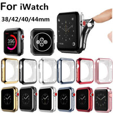 TPU Silicone Protective Case Cover For Apple Watch iWatch Series 4 3 2 1 40/44mm