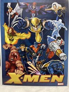 X-MEN LEGENDS MARVEL METAL POSTER  WALL ART  GORGEOUS