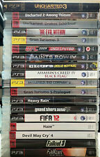 Playstation 3 PS3 Spiele Spielesammlung Konvolut Spielepaket Top Games