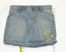 Nice Gap sz 14 Girls Adjustable Waist Blue Jeans Denim Skirt School B0788