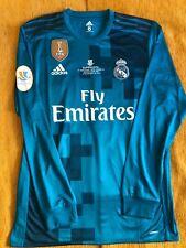 Cristiano Ronaldo Real Madrid Match Prepared Shirt Final Súper Copa 2017