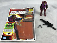 GI Joe 1990 Saw Viper V1 100% Complete w/ Uncut Card Hasbro ARAH Vintage