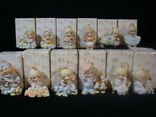 t Precious Moments-Rare-Complete 12 Days Of Christmas Set-Beautiful!