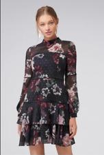 BNWT Forever New Faith Dobby Dress size 14