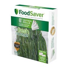 Food Storage Bags Fresh Vacuum FoodSaver 8 Inch Roll Microwave Safe Pack Of 3 .