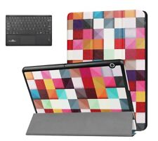 "Smart PU Leather Case For HuaWei Mediapad T3 10"" Tablet + Bluetooth Keyboard"