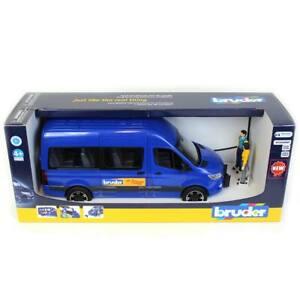 1/16 Bruder Mercedes-Benz Sprinter Transfer Van with Driver & Passenger 2670
