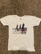 Rem R.E.M. Around The Sun White Shirt American Apparel Size S Small
