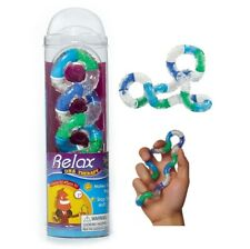 Relax DNA Tangle Rubberized & Textured Fidget Toy Braintools