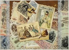 Rice Paper for Decoupage Decopatch Scrapbook Craft Sheet Vintage Old Pictures