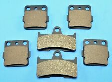 Front+Rear Carbon fiber Brake Pads for 2003-2008 YAMAHA Grizzly 660 YFM660F 4x4