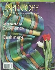 Spin-off magazine Summer 1998: rolled brim & zigzag hats, spider mat, lace scarf