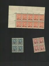 CS 039   Luxembourg  early part sheet MNH top quality ever
